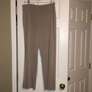 Chico's Easywear Tan Pants Size 2